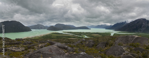 Fotobehang Donkergrijs archipelago