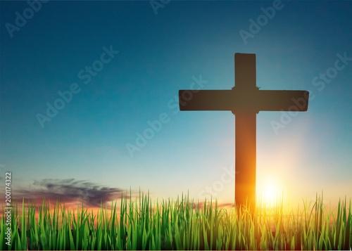Keuken foto achterwand Ochtendgloren Cross.