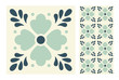 vintage tiles patterns antique seamless design in Vector illustration - 200190114