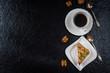 Dessert honey cake
