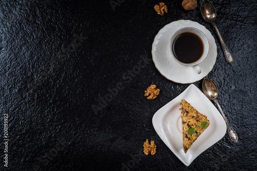Foto Murales Dessert honey cake