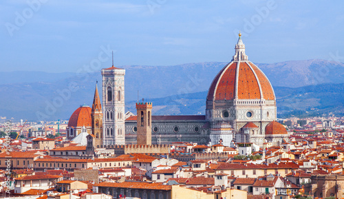 Plexiglas Florence Florence cathedral Duomo