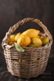 Collection of lemons in the basket - 200205199
