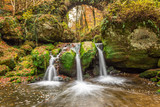 Schiessentumpel Waterfall, Mullerthal Trail, Luxembourg
