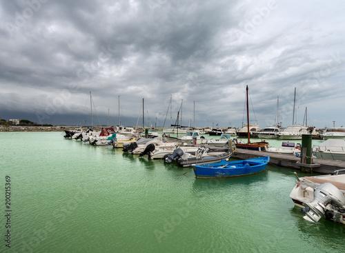 In de dag Liguria Port of Bocca di Magra - La Spezia - Italy