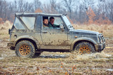 Offroad car in mud - 200217731