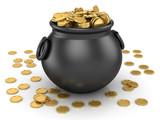 Pot of Gold Coin