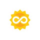 Sun Infinity Logo Icon Design - 200222913