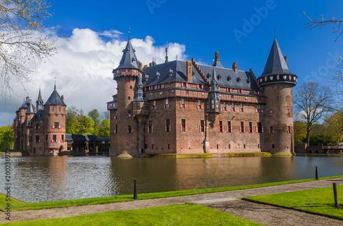 Fotobehang Amsterdam De Haar castle near Utrecht - Netherlands