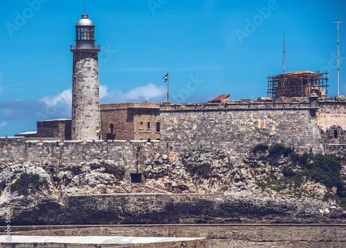 Foto op Canvas Havana Castillo de los Tres Reyes del Morro ist eine Festung im kubanischen Havanna