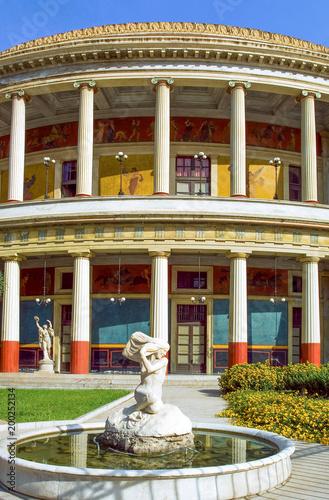 Plexiglas Palermo The art and the architecture in Palermo
