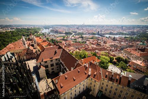 Prague Castle Rooftops