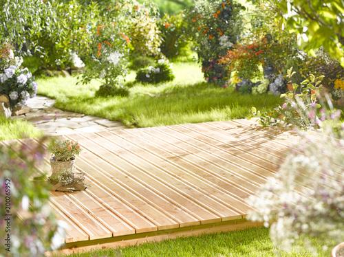 Sticker Garten