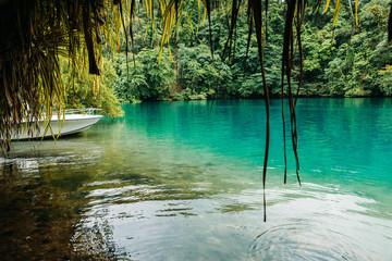 Blue lagoon auf Jamaika  © ajlatan