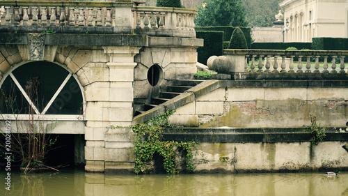 Old architecture in Antwerp, Belgium.