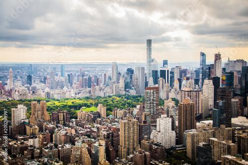 Foto op Plexiglas New York Central Park Aerial