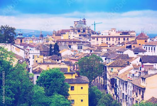 Historic part of Granada