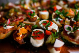Catering snacks, appetizers or finger food - 200314597