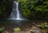 Azores, S Miguel island waterfall Salto do Prego