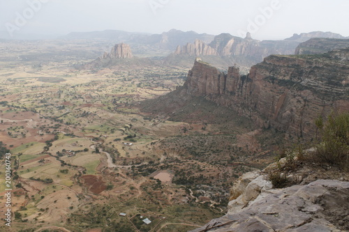 Fotobehang Donkergrijs Ethiopia