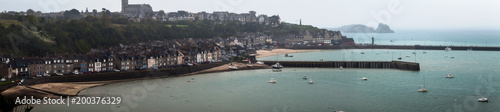 View of ancient city Cancale, France