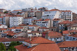 Panoramic view on the downtown of  Kastoria town. Greece
