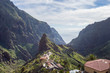 View of the mountains and the village of Masca in the northwest of 'island of Tenerife in SPAIN - 200405702