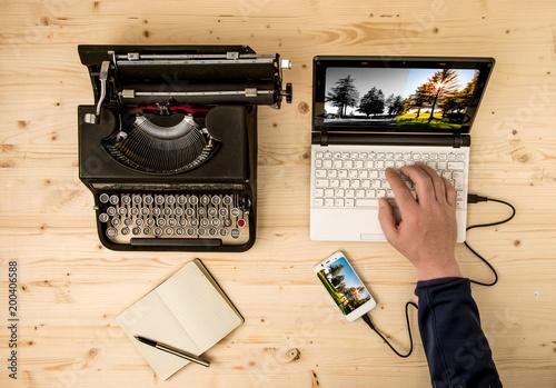 Keuken foto achterwand Beige Sviluppo fotografia in camera chiara