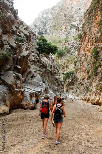 Foto Murales Randonnée dans les Gorges de Prassano en Crète
