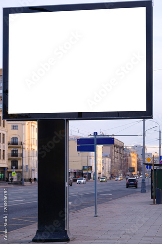 The image of a billboard