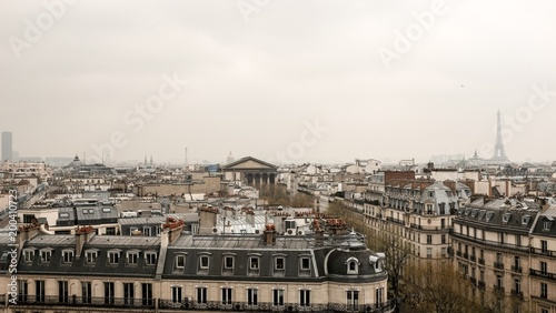 Fotobehang Parijs Paris. France.