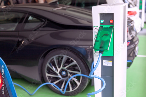 Electric vehicle - EV charging station