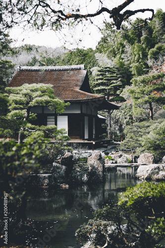 Fotobehang Kyoto Casa tradicional japonesa