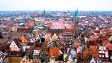 Panoramic Cityscape of Nuremberg, Germany - 200420977