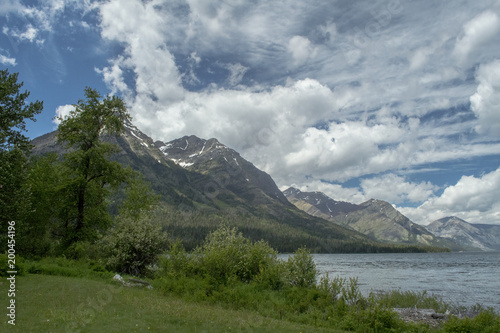Foto op Aluminium Bergen Okanagan British Columbia Lake Scene