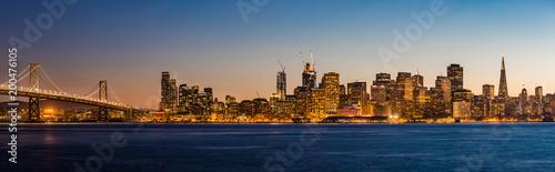 San Francisco Skyline Sunset - 200476105