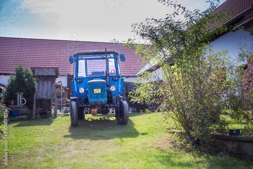 Fotobehang Trekker tractor Zetor