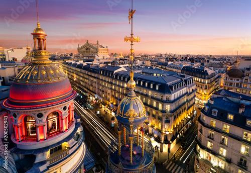 Fotobehang Parijs Toits de Paris, France