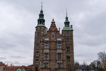 Rosenborg Castle in Copenhagen, home of the Danish Crown Jewels