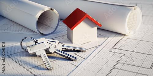 Konzept eigene Immobilie - Hausbau 2