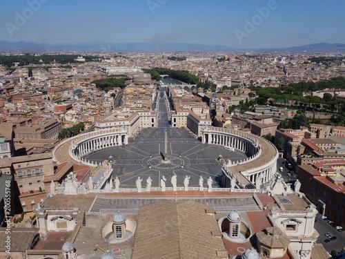 Fotobehang Rome San Piedro