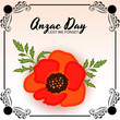 Anzac Day(Lest we forget).