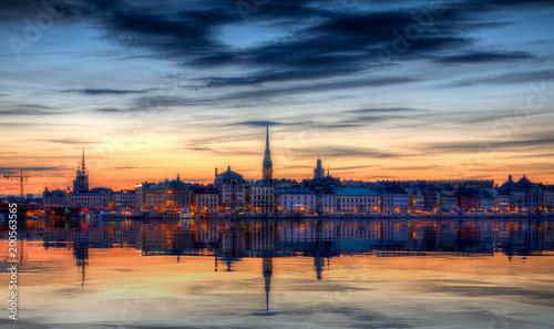 Foto op Canvas Stockholm Stockholm old town.