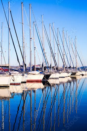 cichy port na Morzu Adriatyckim