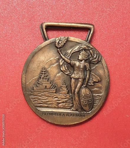 Italy Italiana medaglia D'Onore Per Lunga Navigazione