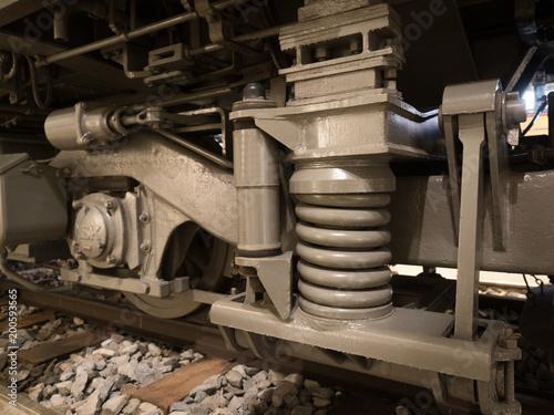 In de dag Spoorlijn 電車の台車