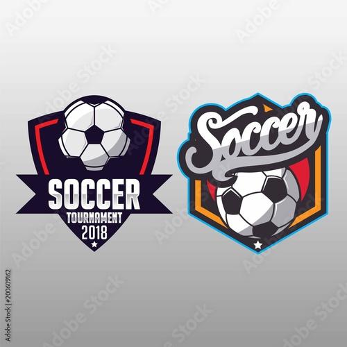 Soccer badge, football logo sport - 200609162