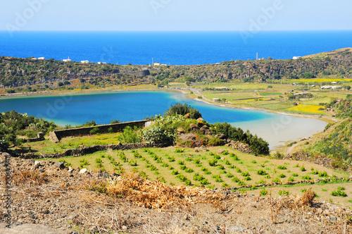 Tuinposter Honing イタリア、シチリアのパンテッレリア島の風景