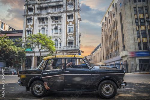 Foto Murales Mumbai Taxis