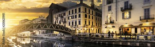 Fotobehang Milan Milano spirit